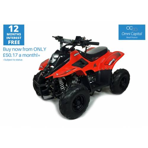 Orion Mikro 70cc Kids Quad Bike Red