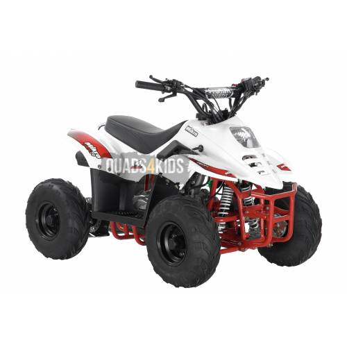 Mikro 70cc Kids Quad Bike White