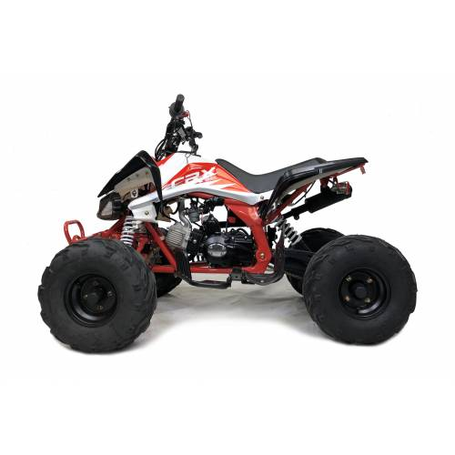 Orion Panther 110cc Quad Bike RED, BLACK & WHITE