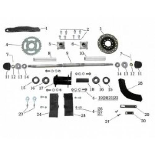 Orion Mikro 70cc Quad Spare Parts | Storm Buggies | Quads 4 Kids
