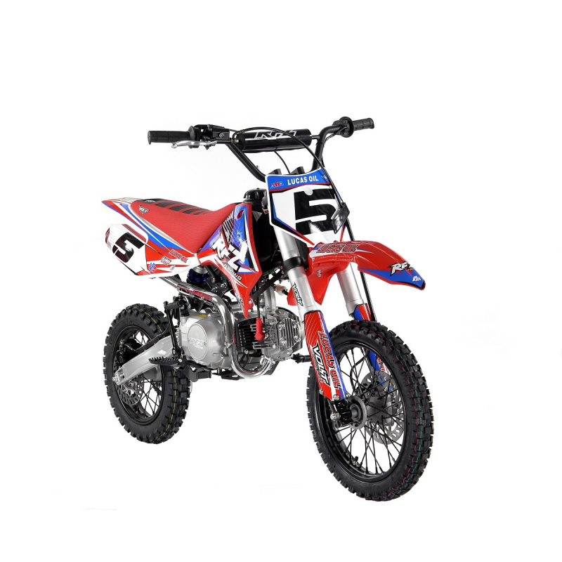110cc RFZ RACING™ Pro Start Pit Bike Red