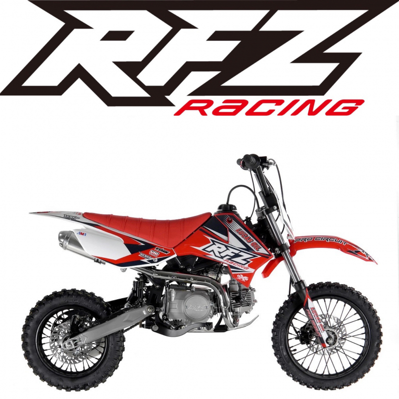 Red 110cc RFZ Racing™ Semi Auto Kids Pit Bike