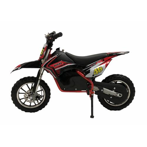 Self Assembly Kids 500w Electric Mini Dirtbike - Red