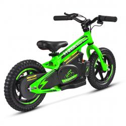 "Storm Kids 100w 12"" Electric Balance Bike - Green"