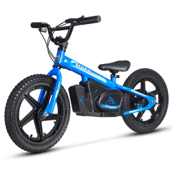"Storm Kids 170w 16"" Electric Balance Bike - Blue"